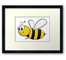 BEE, Bumble, Flying, Insects, Cartoon, Kids, Honey,  Framed Print