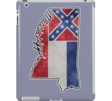 Mississippi State Outline iPad Case/Skin