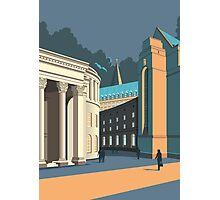 Manchester Library Photographic Print