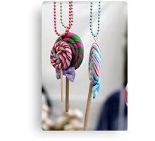 necklace decorated Canvas Print