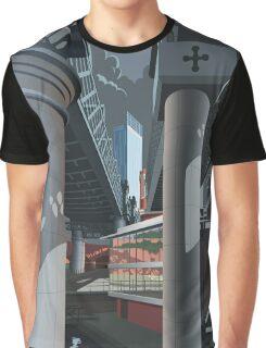Castlefield, Manchester Graphic T-Shirt