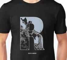 MAPHABET R: Rio de Janeiro Unisex T-Shirt