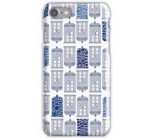Tardis Tardis Tardis iPhone Case/Skin