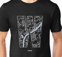 MAPHABET W: Warsaw Unisex T-Shirt
