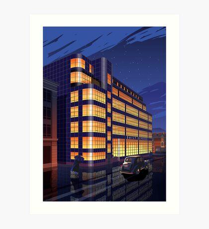 Daily Express Building, Manchester Art Print