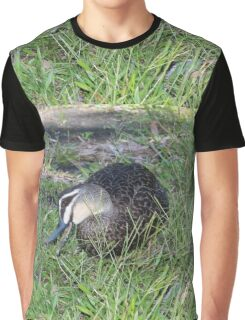 Delightful Duck Graphic T-Shirt