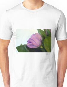 Purple and pink roses closeup  Unisex T-Shirt