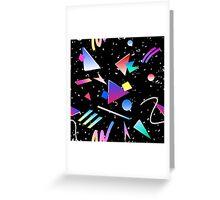 HELLO MEMPHIS (black) Greeting Card