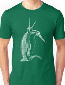 Scary penguin- white Unisex T-Shirt