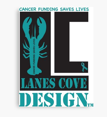 Lane Cove Design supports Cancer research Canvas Print