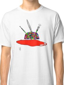 Brainsane (Psychedelic Version) Classic T-Shirt