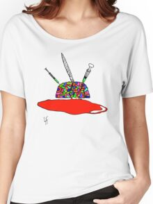 Brainsane (Psychedelic Version) Women's Relaxed Fit T-Shirt