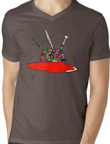 Brainsane (Psychedelic Version) Mens V-Neck T-Shirt