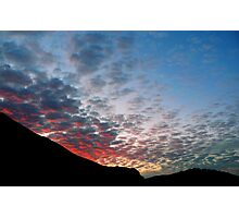 #1114  Red White & Blue Photographic Print