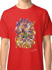 Abstract digital art - Jamurina V2 Classic T-Shirt