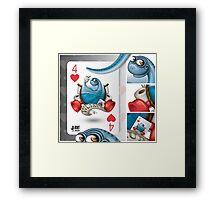 WCsaur / Cards for my arts Framed Print