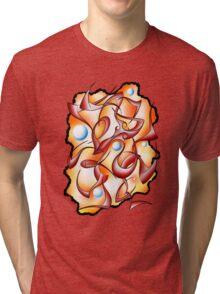 Abstract digital art - Selerion V3 Tri-blend T-Shirt