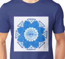 Lotus Throat Chakra Unisex T-Shirt