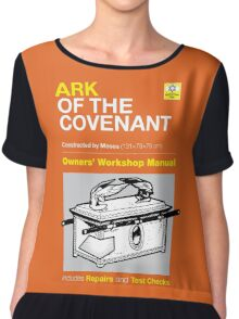 Owners' Manual - Ark of the Covenant - T-shirt Chiffon Top