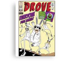The Drove Assemble Canvas Print