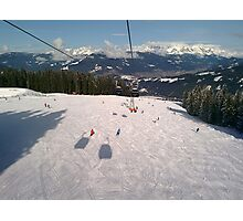 Ski Slopes Photographic Print