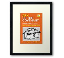Owners' Manual - Ark of the Covenant - Poster & stickers Framed Print
