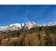 Austria Mountains Photographic Print