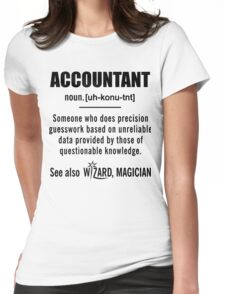 Accountant Definition Shirt - Accountant Gifts Womens Fitted T-Shirt