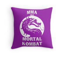 MMA aka Mortal kombat Throw Pillow