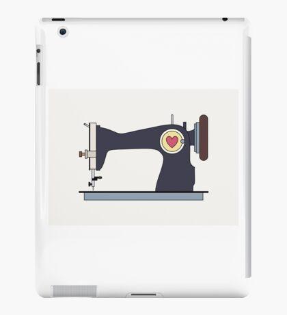 Retro Sewing Machine iPad Case/Skin