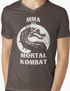 MMA aka Mortal kombat Mens V-Neck T-Shirt