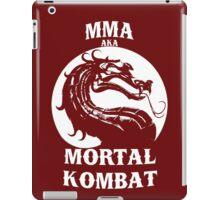 MMA aka Mortal kombat iPad Case/Skin