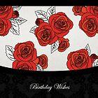 Vintage Roses - Birthday Wishes by RumourHasIt