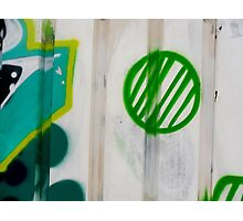 Green Ball Graffiti - by Ana Canas Photographic Print