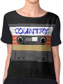 COUNTRY MUSIC Chiffon Top