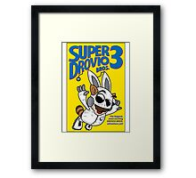 Super Drovio Bros Framed Print
