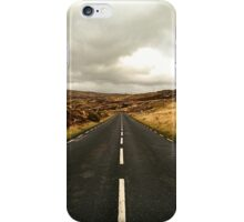 Empty Road Donegal iPhone Case/Skin