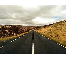 Empty Road Donegal Photographic Print
