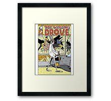 The Walking Drove Framed Print