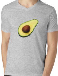 Cool Avocado Mens V-Neck T-Shirt