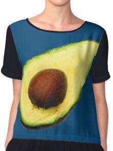 Cool Avocado Chiffon Top