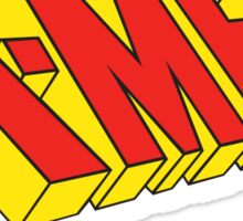 X-men logo sticker Sticker