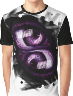 Twins - Purple Eyes Graphic T-Shirt