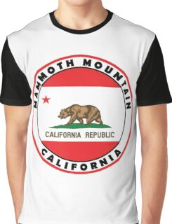 MAMMOTH MOUNTAIN CALIFORNIA SKIING SKI SNOWBOARDING HIKING CLIMBING  20 Graphic T-Shirt