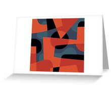Abstract XXXIX Greeting Card