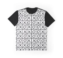 Oxo Game - Noughts and Crosses Graphic T-Shirt