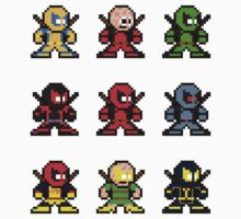 8-bit Deadpool Through the Ages by 8 Bit Hero