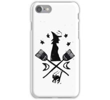 The Witch Team Crest by Crafty Hag iPhone Case/Skin