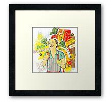 Enjoy Summer  Framed Print
