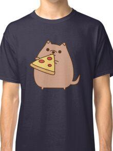 Pupsheen Eating Pizza Classic T-Shirt